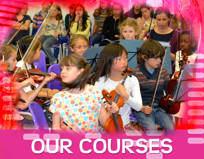 String courses for young people at Stringwise